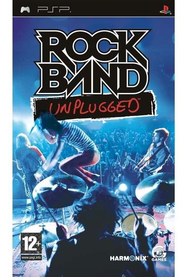 Rock Band Unplugged Psp Novo E Lacrado(midia Física)