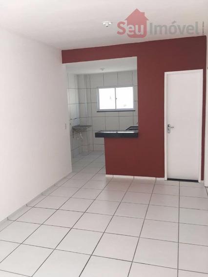 Apartamento Residencial À Venda, Parque Guadalajara (jurema), Caucaia. - Ap0961