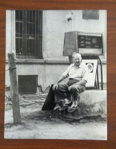 Fotografía Original- Antiguo Surtidor De Nafta