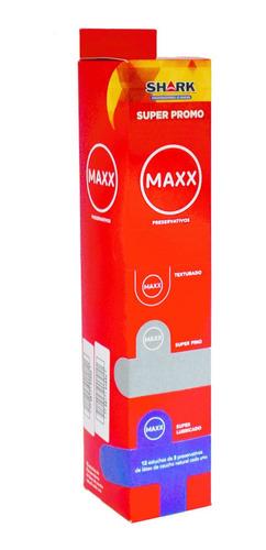 Preservativos Maxx Surtidos 12 Cajitas X 3