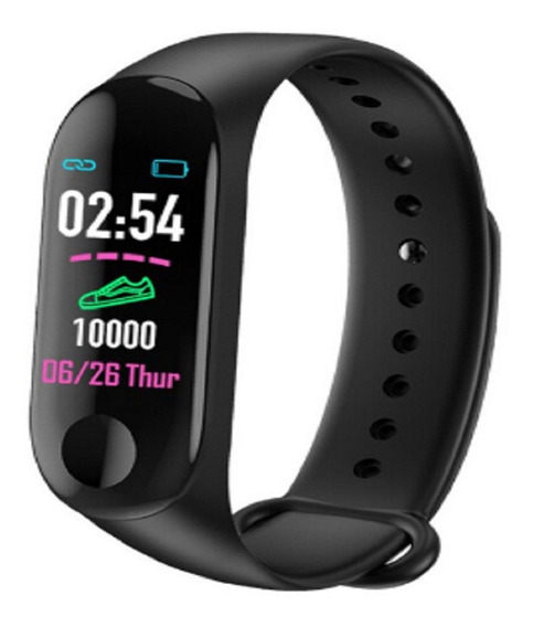 Relogio Smart Band M3 Monitor Cardiaco Passos Corrida