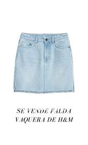 2ce15c035 Falda Vaquera Zara - Ropa y Accesorios en Mercado Libre Perú