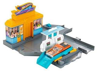 Mini Pista Hot Wheels Parada De Pits Original Mattel