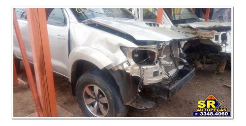 Sucata Toyota Hilux Srv D4-d 4x4 Tdi 3.0 Diesel