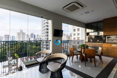 Imagem 1 de 23 de Apartamento Com 3 Dormitórios Para Alugar, 276 M² Por R$ 35.000,00/mês - Vila Olímpia - São Paulo/sp - Ap11035