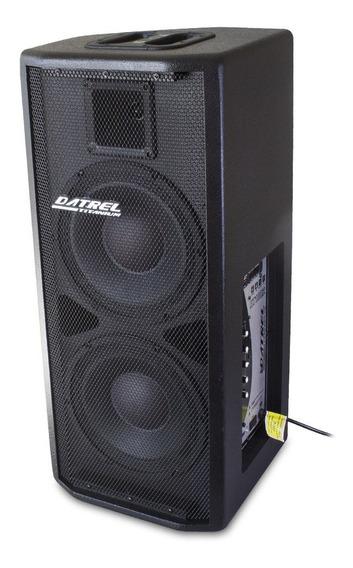 Caixa Som Ativa Falante 2x10 P 400w Profissional Bluetooth