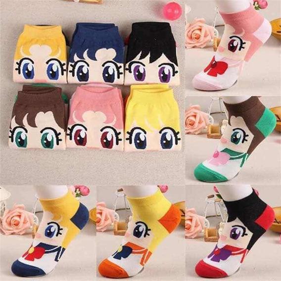 4 Pares De Calcetas Sailor Moon