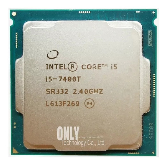 Processador Intel Core I5 7400t+ Mem Kingston 8 Gb Ddr4 2400