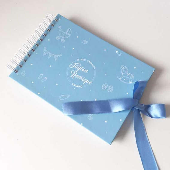 Álbum Para Scrapbook Primeiro Aninho - Personalizado