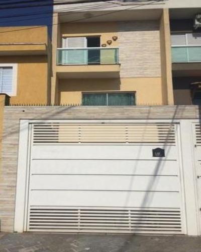 Sobrado - Vila Ema - 150 M² - 3 Dormitórios - 1 Suíte - Cozinha Americana - Jd. De Inverno - Quintal - Sótão - 2 Vagas - Portão Automático - 2630 Lp - 33276347