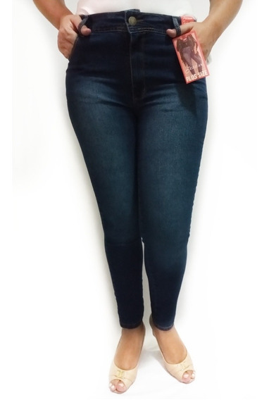 Kit 4 Calça Jeans Feminina Cintura Alta Plus Size Do 46ao54