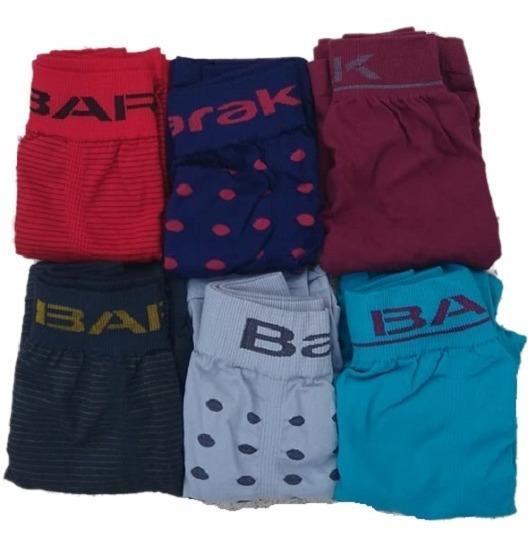 Pack 5 Calzoncillo/boxer Barak Surtidos Al Liso Rayado Lunares Algodón Simil G3 Cromosoma Xy Lody Ritmo
