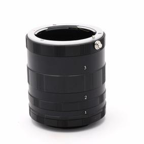 Tubo Macro Extensor Metal Canon Eos Ef Ef-s 60d 70d 5d T5i