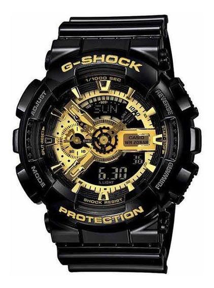 Relógio Casio G-shock 200m Ga-110gb Original Dourado