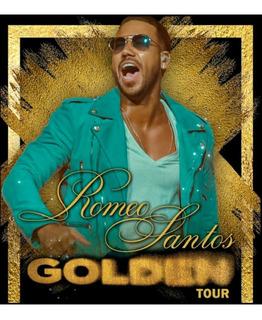 Entradas Concierto 22/11 Romeo Santos Golden Tour