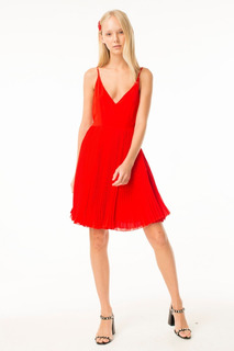 Vestido Lyra Rojo Las Pepas