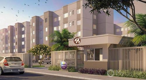 Imagem 1 de 12 de Apartamento À Venda, 42 M² Por R$ 144.135,00 - Eusébio - Eusébio/ce - Ap0543
