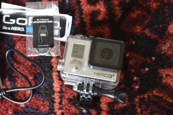 Gopro Hero 3+ Black Edition Com Monitor