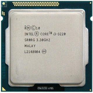 Procesador gamer Intel Core i3-3220 BX80637I33220 de 2 núcleos y 3.3GHz de frecuencia con gráfica integrada