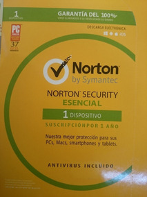 Norton Security Essencial 1 Ano 1 Pc .. Leia Com Atencao