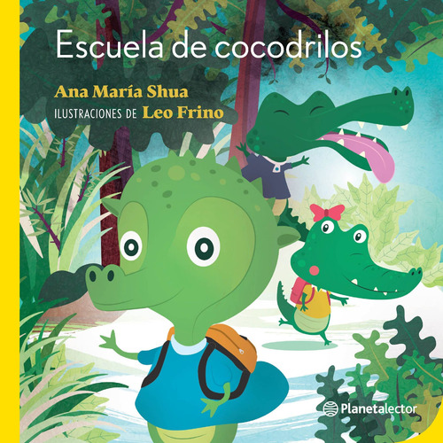 Imagen 1 de 2 de Escuela De Cocodrilos De Ana María Shua