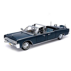 Miniatura Lincoln X-100 John Kennedy Car 1961 1:24 Yat Ming