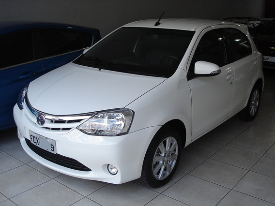 Toyota Etios Hatch Xls 1.5 Top Completo Manual 27.000km 2017