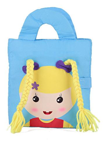 Pano De Bebê Macio Livro De Educação Precoce Brinquedos Para