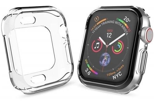 Imagen 1 de 3 de Protector Ultraslim Apple Watch 44mm Serie 4 Antigolpes