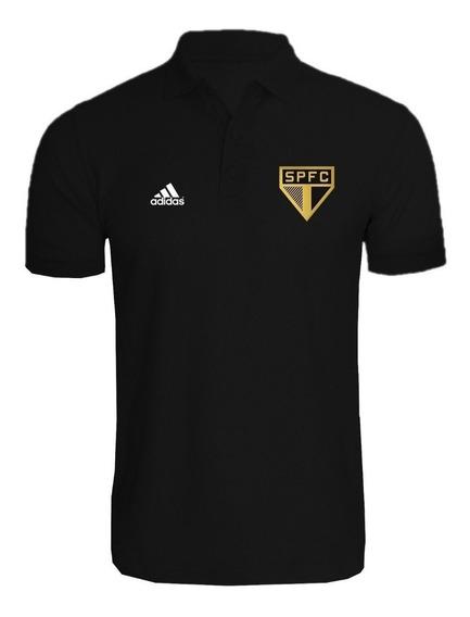 Blusa De Futebol Camisa Polo Time São Paulo Torcedor 2020