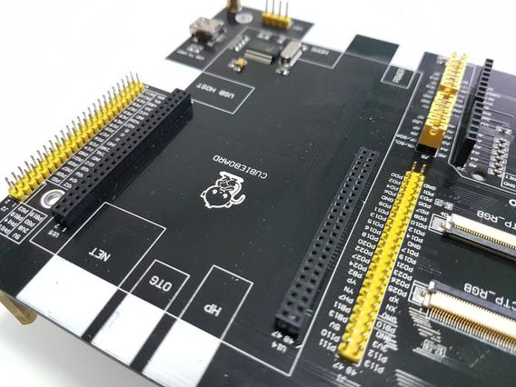 Placa Expansão Waveshare Fpga Cpld Arduino Cubieboard Dvk522