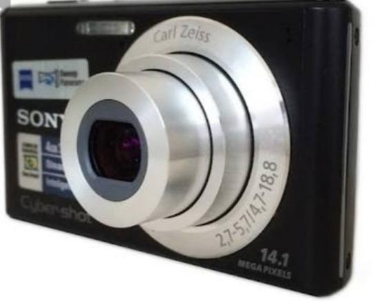 Camera Digital Sony 14.1, Usada Em Perfeito Estado.