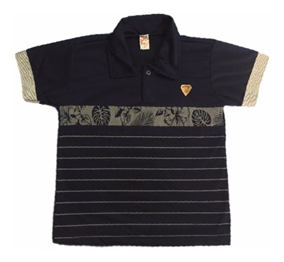08 Camisa Camiseta Polo Infantil Masculina Menino Atacado