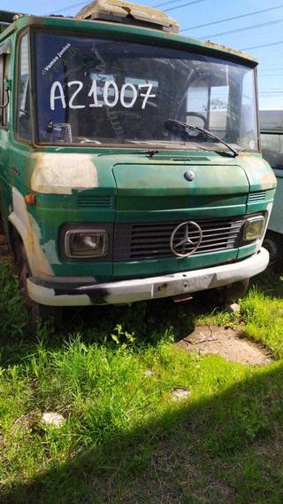 Caminhão Mercedes 608 1974 Motor Fundido