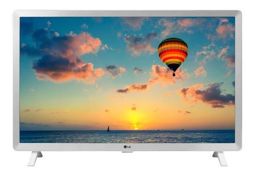 Tv Monitor LG Led 24 Pulgadas Hd Lcd 24tl520d Blanco Basico