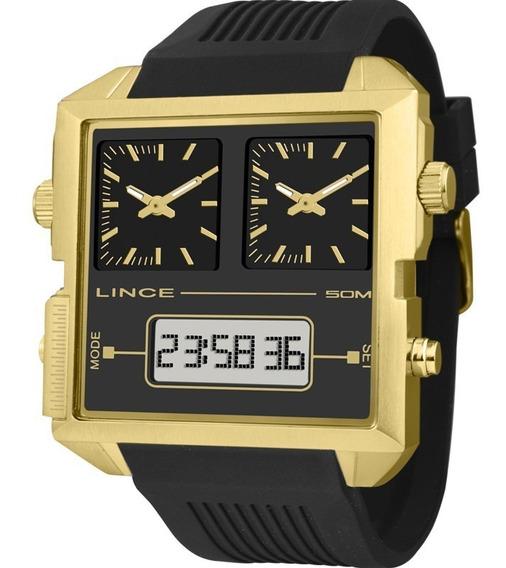 Relógio Lince Masculino Original Garantia Nota Map4587sp1px