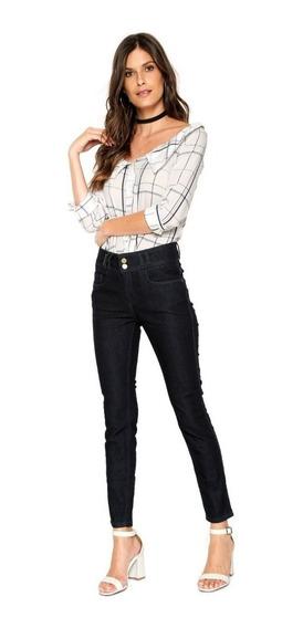 Calça Jeans Básica Skinny Lança Perfume Original