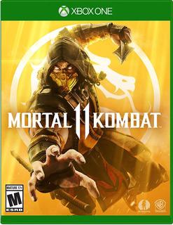 Mortal Kombat 11 (am) / Stock Ya! / Juego Físico / Xbox One