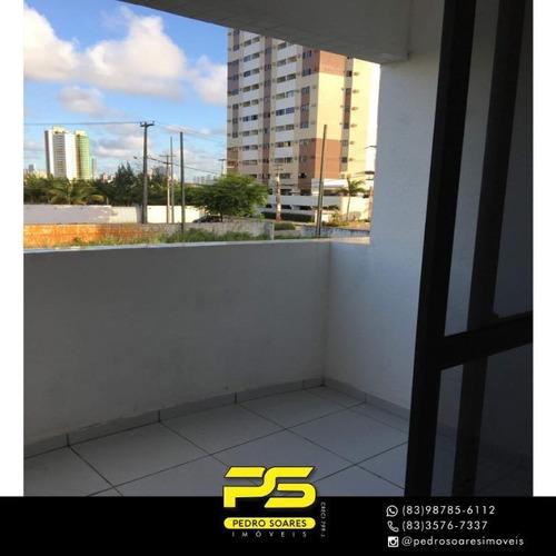 Apartamento Com 3 Dormitórios À Venda, 85 M² Por R$ 208.000 - Aeroclube - João Pessoa/pb - Ap4291