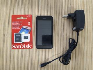 Celular Smartphone Lumia 530 Funcionando + Cartão Sd 8gb