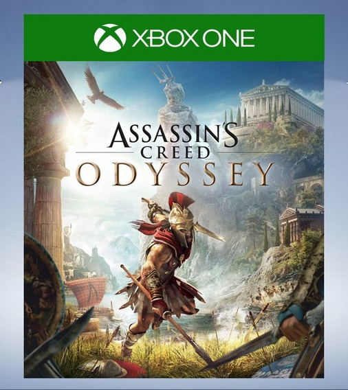 Assassins Creed Odyssey Xbox One Código De Resgate Imediato