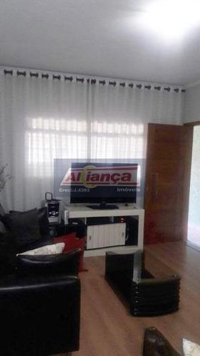 Sobrado Residencial À Venda, Portal Dos Gramados, Guarulhos - So0108. - Ai393