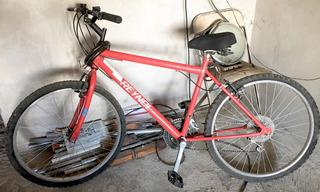 Bicicleta Reynolds Rodado 26 18 Velocidades Deportiva Roja