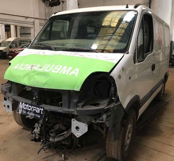 Renault Master 2.5 G9u No Chocada Con Faltantes Al Día