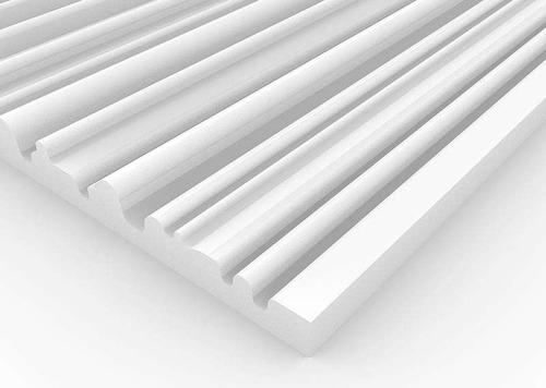 Imagen 1 de 6 de Panel Acústico Premium Blanco Ignifugo - Arabian 50mm