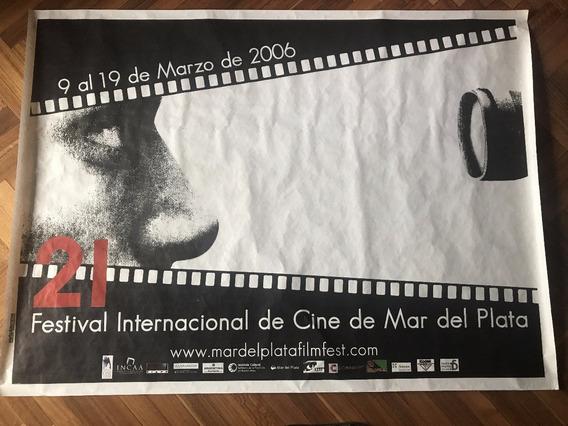 Coleccionistas!! Afiche Calle Festival Cine Mar Del Plata