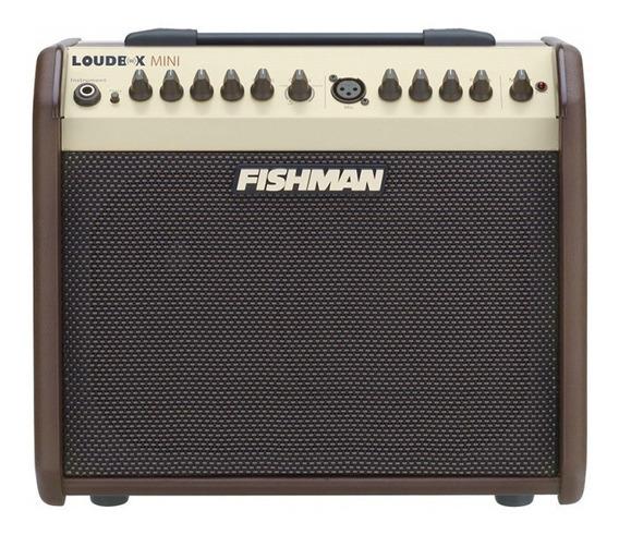 Amplificador Fishman Pro-lbx-500 Loudbox Mini 60w C/ Efeito