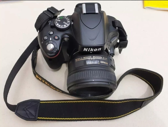 Nikon D5100 Lente 50mm