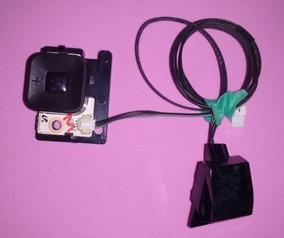 Botão Power + Sensor Controle Remoto Tv Samsung Un55ku6000