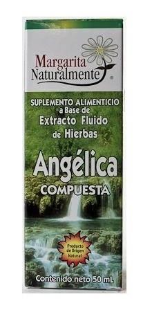Angelica Compuesta Limpia Organo Reproductor Femenino